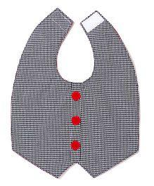 Funkie Baby Reversible Vest Bib - Black