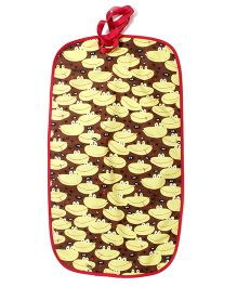 Funkie Baby Reversible Go Mats - Brown & Yellow