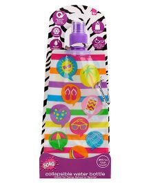3C4G Multi Design Water Bottle - Multicolour