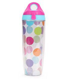 3C4G Circle Print Sport Bottle - Multicolour