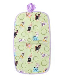 Funkie Baby Reversible Go Mats - Mint Green