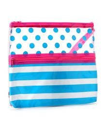 3C4G Baby Stuff Bag - Blue & Pink