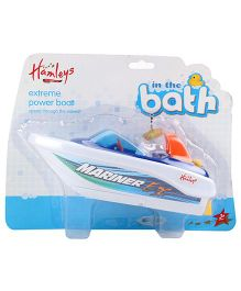 Hamleys Bath Time Speed Boat Toy - Blue