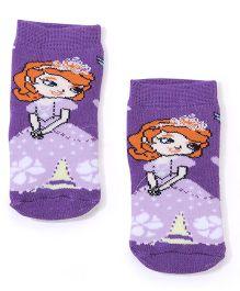 Mustang Socks Princess Design - Purple