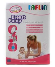 Farlin Luxurious Manual Breast Pump - Blue