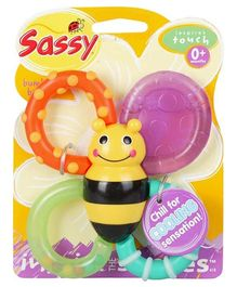 Sassy Bumble Bite Teether - Multi Color