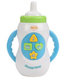 Mitashi Skykidz Musical Bottle Shape Toy - White And Blue