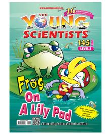 Young Scientist Frog On Lilly Pad Comic - Level 2