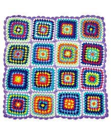 MayRa Knits Rainbow Blanket - Multicolour