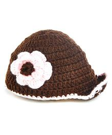 MayRa Knits Cap - Brown
