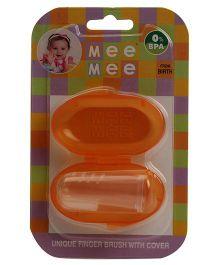 Mee Mee Silicone Toothbrush - Orange