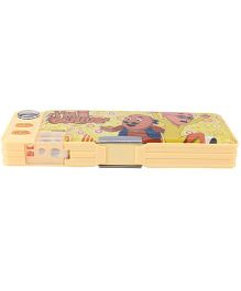 Motu Patlu Pencil Box - Peach