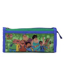 Motu Patlu Graphic Printed Pencil Pouch