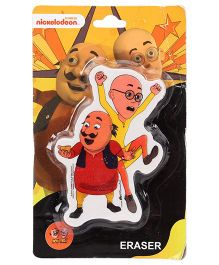 Motu Patlu Eraser - Red And Yellow