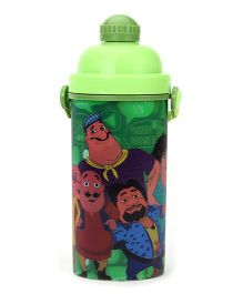 Motu Patlu Sipper Bottle Green - 600 ml