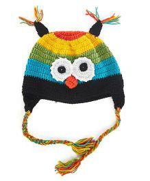 Designer Owl Cap - Multicolour