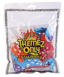 Themez Only Rubber Play Theme Balloons - 25 Balloons