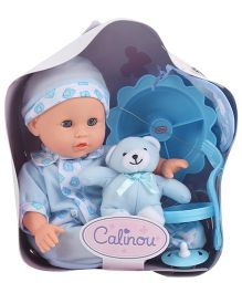 Hamleys Calinou Backpack Doll - Blue