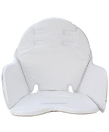 Mothercare Loved So Much Highchair Cushion - White And Brown
