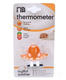 Mothercare Digital Soother Thermometer - White And Yellow
