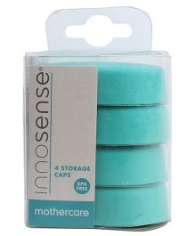 Mothercare Innosense Storage Caps Green - Pack Of 4