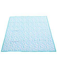Tura Turi Muslin Pyaare Panchhi Blanket - Blue