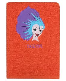 Imagica Digital Designed Neera Bath Towel - Orange