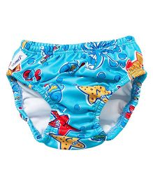 Finis Reusable Swim Diaper Octopus Print - 4T