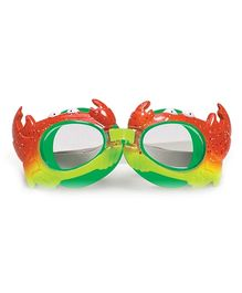 Poolmaster Crab Animal Frame Child Goggles - Green & Red