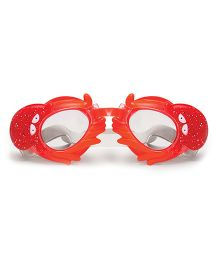Poolmaster Octopus Animal Frame Child Swimming Goggles - Red