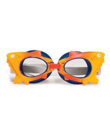 Poolmaster Shark Animal Frame Child Swimming Goggles - Yellow