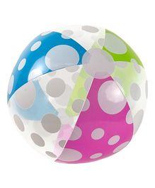 Poolmaster Polka Dot Play Ball - 24 Inches