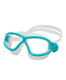 Finis Explorer Youth Swim Mask - Sea Green & Off White