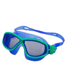 Finis Explorer Youth Swim Mask - Green & Blue