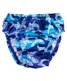 Finis Reusable Swim Diaper Shark Camo - Small