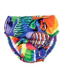 Finis Reusable Swim Diaper Tropical Fish - XXL