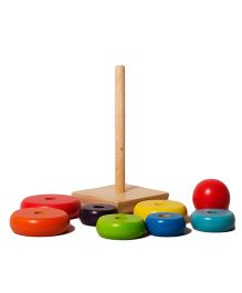 Shumee Rainbow Stacker  Wooden Toy