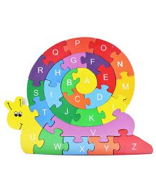 Shumee The Rainbow Snail Puzzle Toy