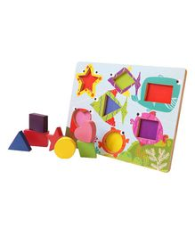 Shumee Shape Board Puzzle Toy