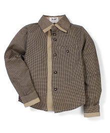 Pinehill All Over Printed Shirt - Khaki