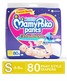 MamyPoko Extra Absorb Pant Style Diapers Small - 80 Pieces