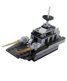 Adraxx Complete DIY Hobby 3D Figher Model - Grey And Black