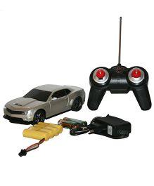 Adraxx Die Cast Metal Remote Control Car- Silver