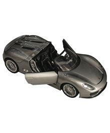 Adraxx Die Cast Porsche Car Toy - Silver