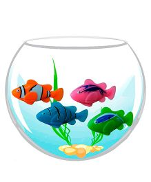 Adraxx Water Sensitive Robot Fish - Multicolor