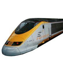 Adraxx Electric Modern Bullet Train Toy - Multicolor