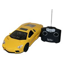 Adraxx Lamborghini Car Toy - Yellow