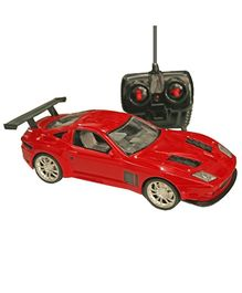 Adraxx Cool Remote Control Car Toy - Red