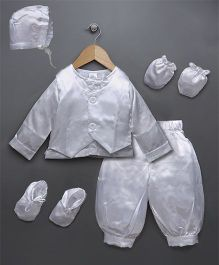 Babyhug Baptism Set - White