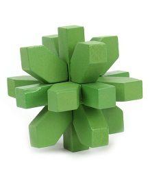 Mi Rainbow 3D Wooden Puzzle - Green
